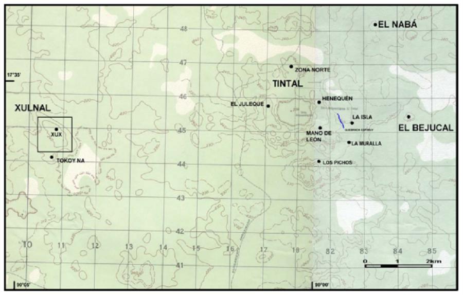 PROYECTO ARQUEOLOGICO CUENCA MIRADOR Investigación y Conservación en los Sitios Arqueológicos El Mirador, La Muerta, Xulnal y Tintal. Informe Final de la Temporada 2004